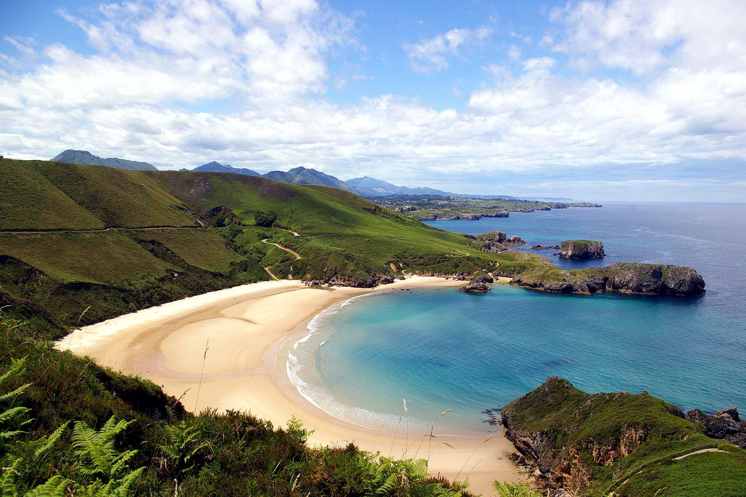 Playa de Torimbia Llanes